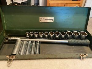 S K Tools 1 2 Drive 12pt Socket Set