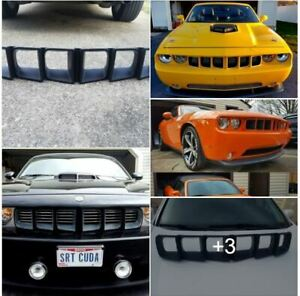 Modern Cuda Grille Challenger New 71 Not Mr Norms Barracuda Dodge Plymouth