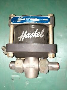 Haskel Aw 60 Air Driven Fluid Pump 60 To 1 New