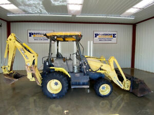 Yanmar Cbl 40 ld Open Rops Backhoe With 4x4