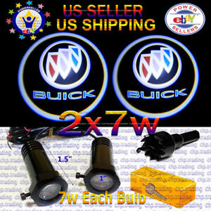 Buick 2x7w Ghost Shadow Laser Projector Logo Led Light Courtesy Door Step