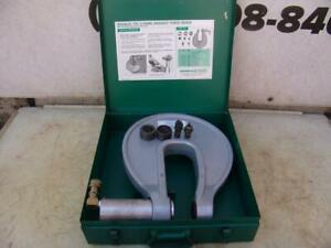 Greenlee No 1731 Hydraulic C frame Knockout Punch Driver W Box
