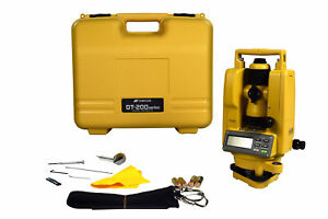 Topcon Dt 209 Waterproof And Dustproof Digital Theodolite