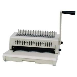 Tamerica 213pb 3 in 1 Comb Binding Machine With Wire Closer 3 hole Punch
