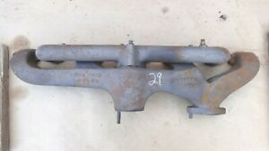 1929 Chevy Intake Exhaust Manifolds Original Gm 6 Cyl Bow Tie