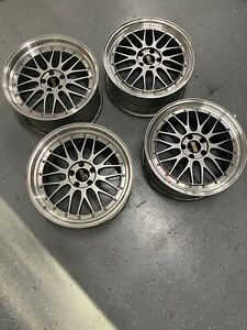Bbs Lm 19 Staggered Complete Set