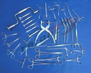 Neuro Surgery Instruments Set German Stain Less Steel A
