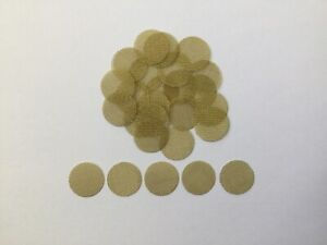 """27 Count Brass Pipe Screens 1 2"""" .50"""" HIGHEST QUALITY USA FREE SHIPPING $2.69"""