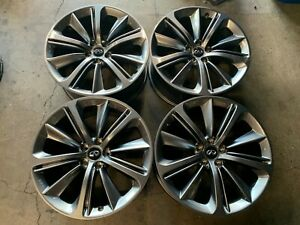 Four 2018 2019 Infiniti Q50 Q60 Factory 20 Wheels Rims 73803 73804 Oem Staggered