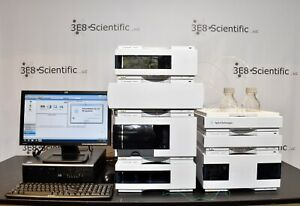 Agilent 1200 Mwd Hplc Cannabis Testing System Complete With Pc Method