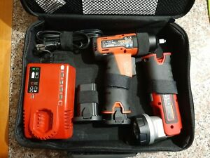 Snap On Ct6610 3 8 7 2 14 4 V Lithium Cordless Impact With Flashlight Charger