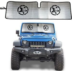 2007 2018 Front Windshield Sunshade Sunshade For Jeep Wrangler Jk Jku