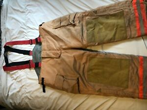 Securitex Firefighter Pants Turn Out Gear Size 50x30 fp 29