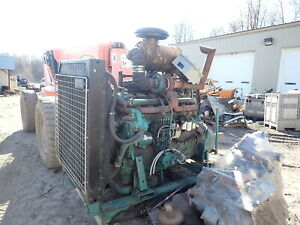 Volvo Twd1231ve Turbo Diesel Engine Power Unit Runs Exc Twd1231 Penta