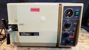 Tuttnauer 2540mk Autoclave Steam Sterilizer Detal Medical Used