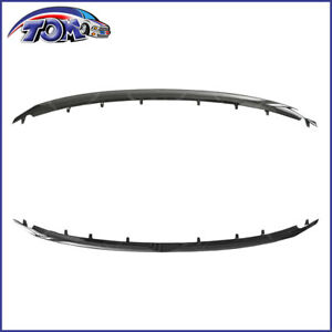 Grille Trims Grill Set Of 2 Upper Chrome Ford Explorer 11 15 Fo1216107 Fo1217105