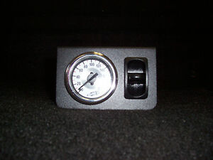 Electric Air Ride Suspension Air Bag Paddle Valve Switch And Gauge