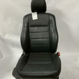 2009 Charger Front Passenger Leather Pwr Bucket Seat Dark Slate Gray Trim Codedv