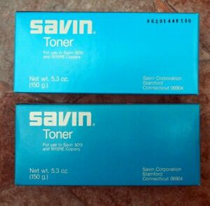 lot Of 2 Savin Toner Cartridges Savin 5015 5015re Copier