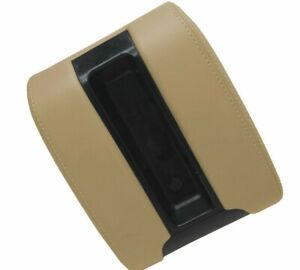 Bmw E39 Center Armrest Console Lid Cover Trim Vinyl Beige Tan For 97 03