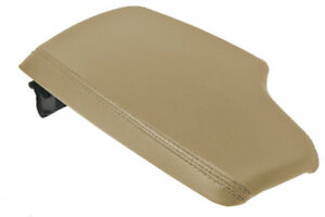 Bmw F30 Center Armrest Console Lid Cover Replacement Trim Vinyl Beige For 14 18
