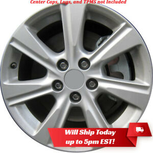 New Set Of 4 17 Silver Alloy Wheels Rims For 2008 2013 Toyota Highlander