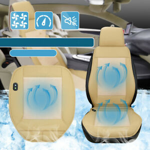 12v Cooling Breathable Car Seat Cushion Cover Air Ventilated Fan Conditioned