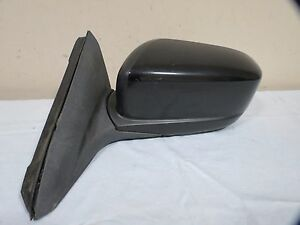 03 07 Honda Accord Power Side View Mirror Left Driver Black Color Oem