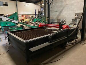 Thermal Dynamic Cutmaster A120 Torchmate Xs2 Cnc Plasma Table System 5 X 10