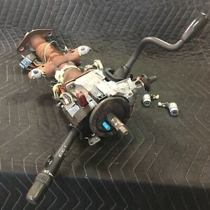 Complete Steering Column W Switches Ignition Switch 94 04 S10 Sonoma Hombre