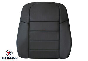 2008 2009 2010 Dodge Charger driver Side Lean Back Leather Seat Cover Dark Gray
