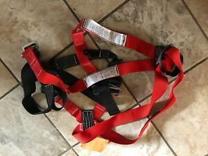 Bashlin Full Body Harness 683xa M Climbing Equipment Safety Lag