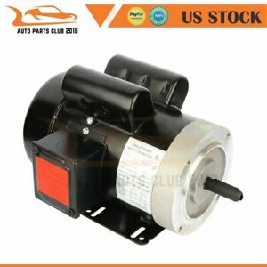 Universal Motor Electric Motor 2 Hp 56c Frame 3450 Rpm 2pole Single Phase Cw ccw