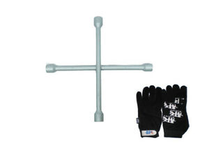 14 4 Way Heavy Duty Forged Steel Universal Lug Wrench With Free Glove