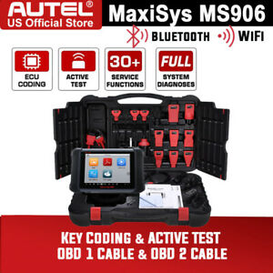 Autel Maxisys Pro Ms906 Obd All System Car Diagnostic Scanner Tool Ecu Coding