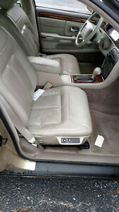 1998 Cadillac Deville Concours Front Bucket Seats Tan Right Left