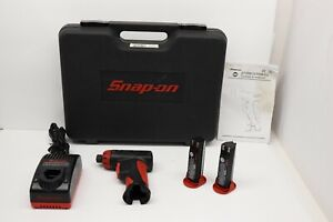 Snap on Cts561cl Driver Kit 7 2v 1 4 Screwdriver 2 Batteries Charger re