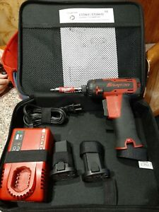 Snap On Cts661 7 2v Cordless Screwdriver 2 Ctb6172 Batteries Ctc772 Charger