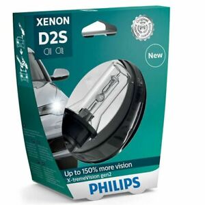 Philips 85122xv2s1 X Treme Vision Gen2 D2s Hid Xenon Car Headlight Bulb X1