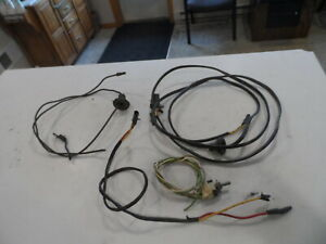 1969 1970 Ford Mustang Cougar Convertible Power Top Switch With Wiring Harness