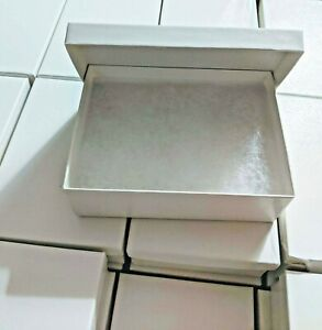 White Swirl Gift Jewelry Boxes Case