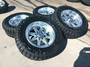 20 20x10 American Force Independence Ss8 Ford F 250 F 350 Wheels Rims 25 8x170