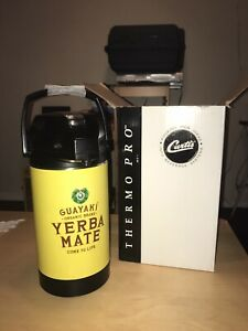 New Curtis Thermopro Airpot Tlxa30 Beverage Dispenser 3 L Guayaki Coffee Tea