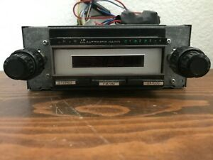 Vintage Automatic Radio Am fm 8 Track In Dasher Car Stereo Made In Japan