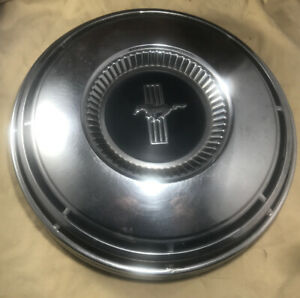 1 Ford Mustang Wheel Dog Dish Hub Cap 10 1 2 Poverty Hubcap 1968 1969 Cover Oem