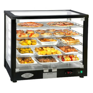 Equipex Wd780b 3 Vitrina Display Case Warmer