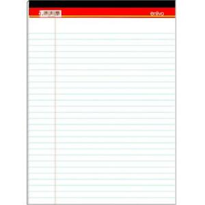 Premium Legal Pad 8 5 x 11 75 50 Sheets White Case Pack Of 72