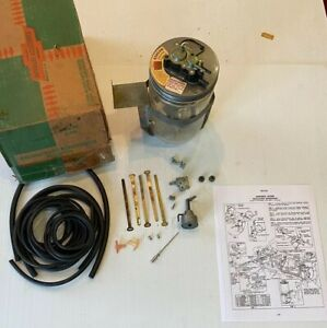 Nos 1957 Chevrolet Truck Car Gm Accessory Windshield Washer Kit Complete 987530
