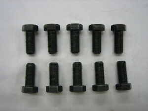 10 Gm 8 2 Chevy Ring Gear Bolts 3 8 X 24 Thread New