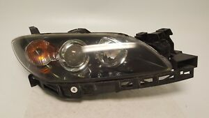 2004 2009 Mazda 3 Mazda3 Headlight Passenger Right Head Light Halogen 04 09 Oem